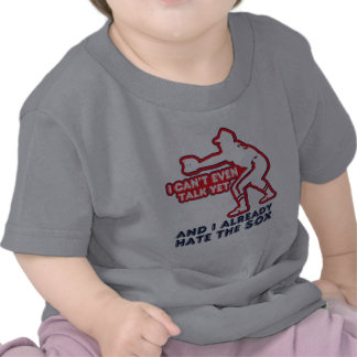 Aborrecedor do Sox do humor do bebê Camisetas