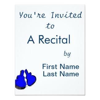 abra a caixa vazia blue.png da guitarra convites personalizados