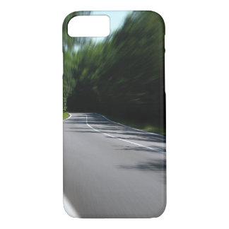 Abra a capa de telefone da estrada