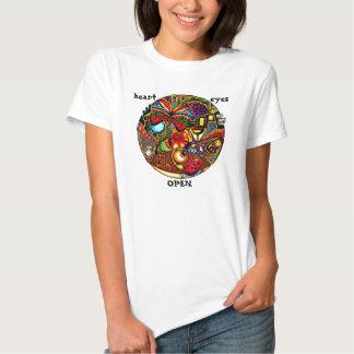 ABRA MEUS OLHOS - personalizados T-shirts