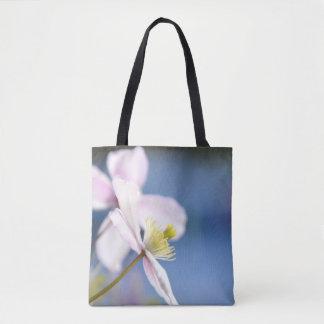 Abra o saco do cliente do bolsa da flor