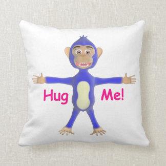 Abrace-me chimpanzé almofada