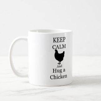 Abrace uma caneca da galinha