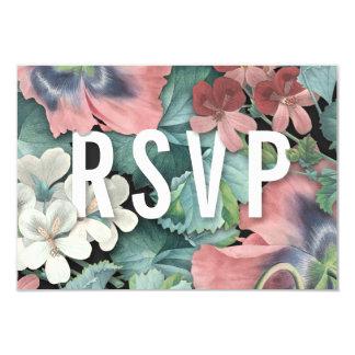 Abraço botânico que Wedding cartões de RSVP