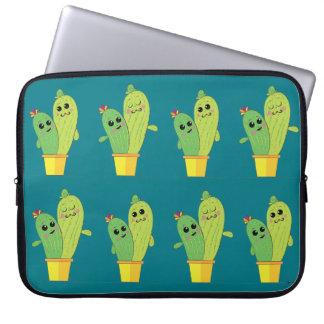 abraço do cacto bolsas e capas para computadores