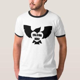 Abraço do falcão do sanduíche do funk! camisetas