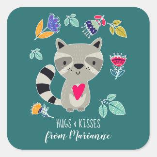 Abraços & beijos. Etiquetas feitas sob encomenda