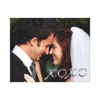 Abraços de prata e beijos que Wedding a foto