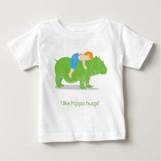 Abraços do hipopótamo tshirts