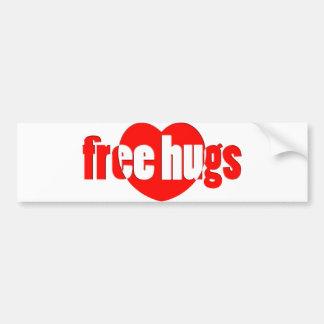Abraços livres adesivo para carro