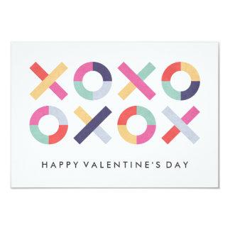 Abraços + Namorados da sala de aula dos beijos - Convite 8.89 X 12.7cm