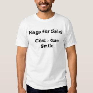 Abraços para a venda t-shirt