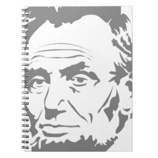 Abraham Lincoln Caderno Espiral