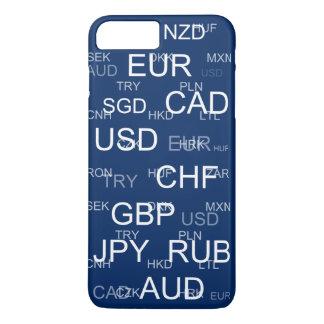 abreviaturas da moeda capa iPhone 7 plus