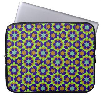 Abs geométrico religioso islâmico do teste padrão bolsa e capa para computadore