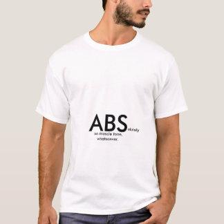 Absolutamente nenhum tom de músculo qualquer camiseta