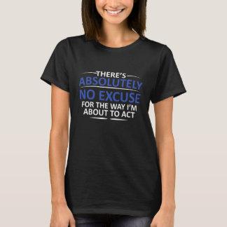 Absolutamente nenhumas camisetas engraçadas do