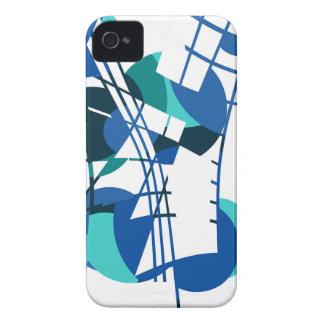Abstracção colorida capas para iPhone 4 Case-Mate