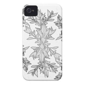 Abstracção floral capa para iPhone