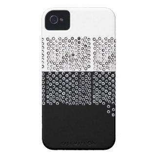 Abstracção preto e branco capa para iPhone