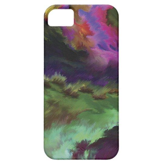 Abstract Art Case Capa Para iPhone 5