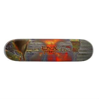 Abstrato 01 do campónio skate