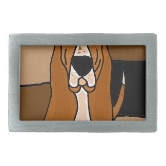 Abstrato adorável da arte do cão de Basset Hound