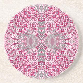 Abstrato animal louco do impressão porta copos de arenito