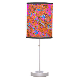 Abstrato cor-de-rosa fluorescente da laranja