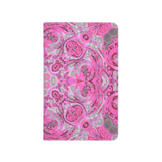 Abstrato cor-de-rosa fluorescente do cinza