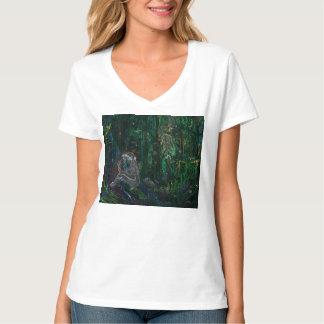Abstrato da arte camiseta