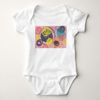 Abstrato da circular body para bebê