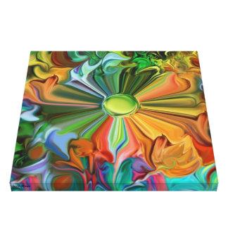 abstrato da harmonia da cópia das canvas impressão em tela