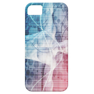 Abstrato da tecnologia avançada e da ciência capa barely there para iPhone 5
