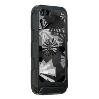 Abstrato de Black&White Capa Incipio ATLAS ID™ Para iPhone 5