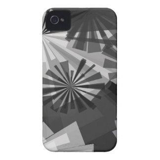 Abstrato de Black&White Capinha iPhone 4