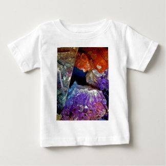 Abstrato de cristal de mineral dos segredos t-shirts
