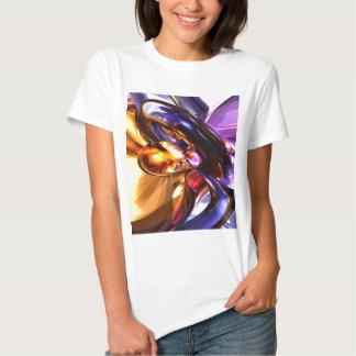 Abstrato de fascínio do Pastel da benevolência Camiseta