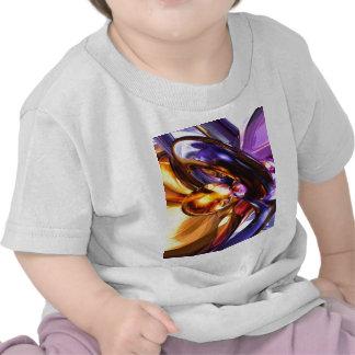 Abstrato de fascínio do Pastel da benevolência T-shirts