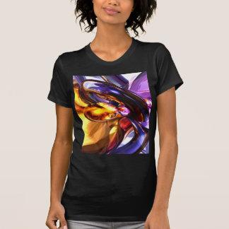 Abstrato de fascínio do Pastel da benevolência Tshirt