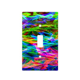 Glowing Rainbow Abstract