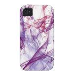 Abstrato de seda capa para iPhone 4/4S