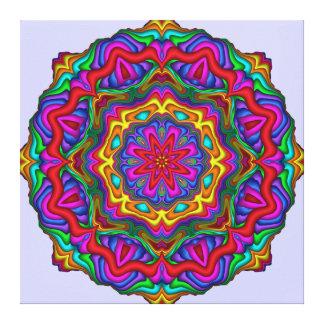 Abstrato decorativo Wallart da mandala Impressão Em Tela