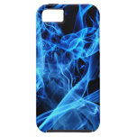 Abstrato do azul capa para iPhone 5