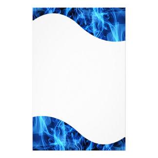 Abstrato do azul papelaria