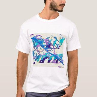 Abstrato do maremoto camiseta