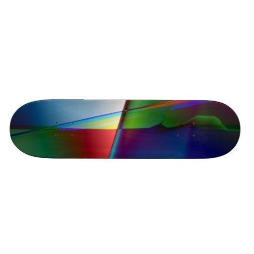 Abstrato do original skate personalizado