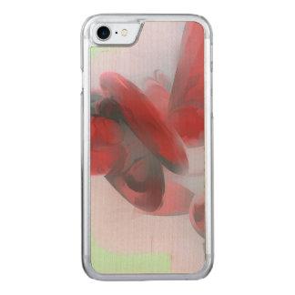 Abstrato do Pastel da coagulação Capa iPhone 8/ 7 Carved