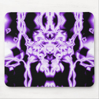 Abstrato do roxo mouse pad