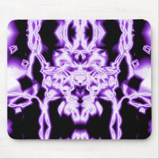 Abstrato do roxo mouse pad